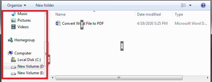 How to convert word file to pdf 5