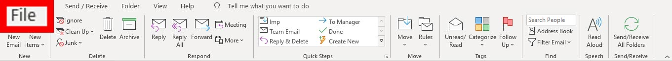 how to add account in outlook 1