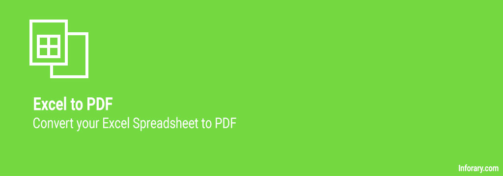 how to convert excel to pdf - inforary