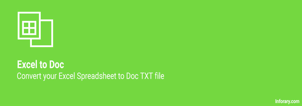 how to convert excel to txt - inforary
