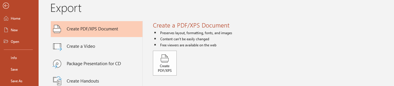 how to convert ppt to xps document 3