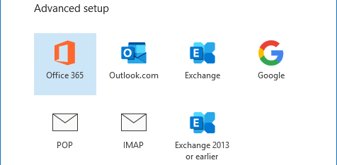 how to setup domain email in outlook 4
