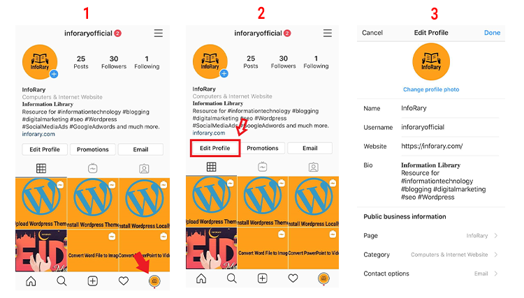 How to Create Instagram Page 5