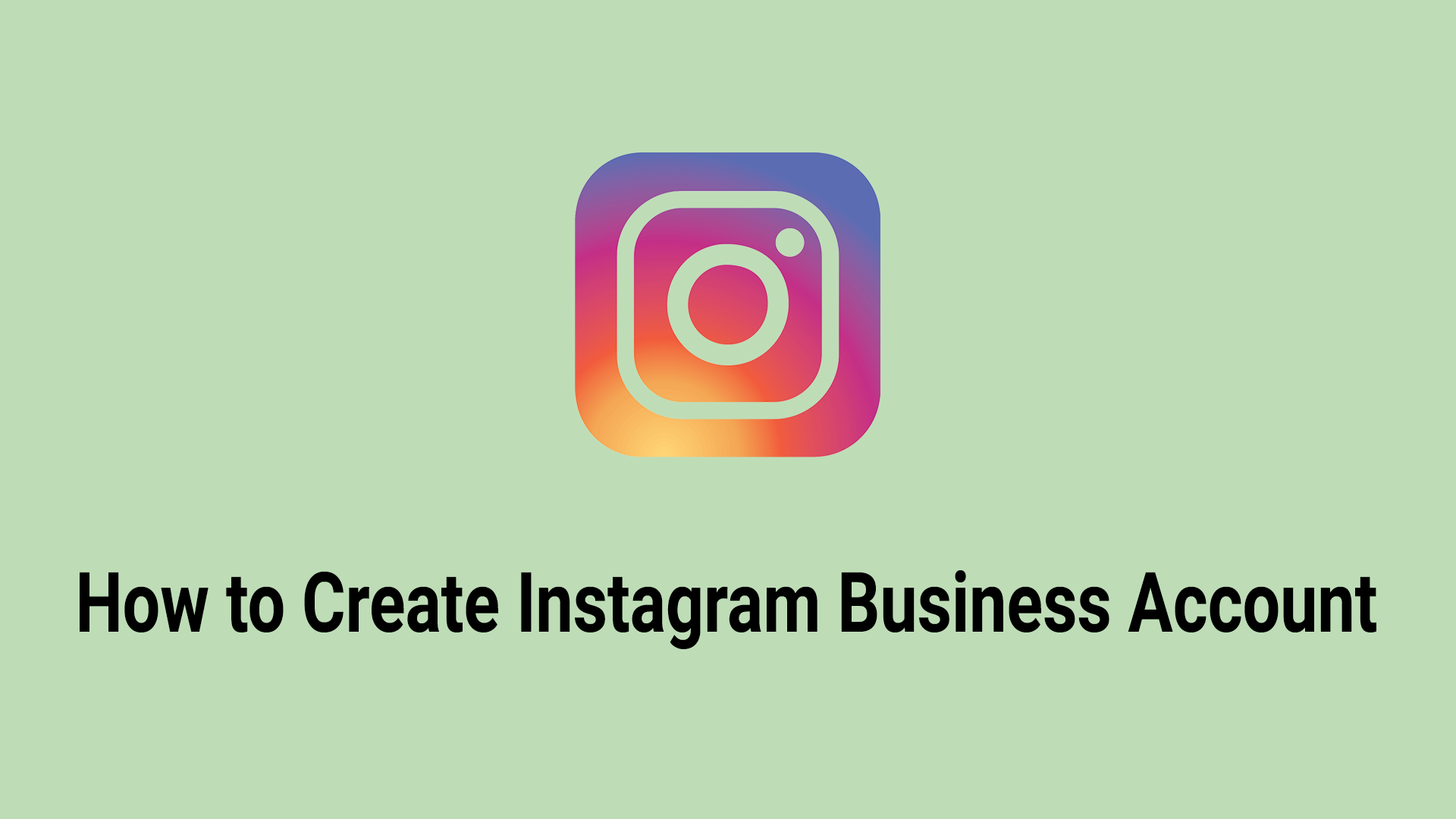 How to Create Instagram Page - inforary
