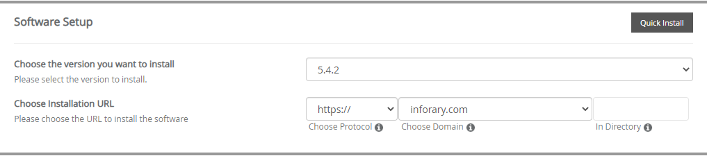 how to install wordpress in hostgator cpanel 3